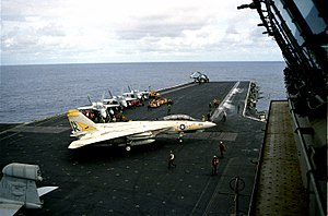 VF-21 - VF-21 F-14A aboard USS Independence