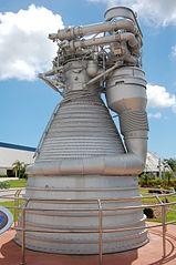 F-1 rocket engine at KSC