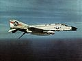 F-4B Phantom II of VF-41 in flight c1973.jpg