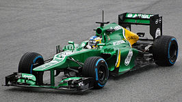 Pic in de Caterham CT03