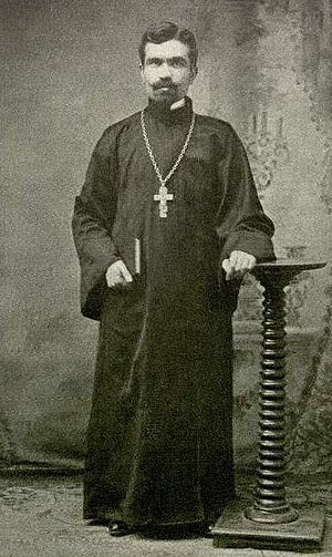 Fan S. Noli - A young Fan Noli as priest (1908).