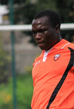 FC Lorient - June 27th 2013 training - Vincent Aboubakar 2.JPG