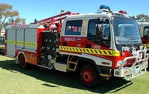Isuzu Forward - Isuzu FTR as fire engine (Australia)