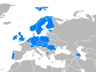 U20 European Championship Men 2008 – Division B - Image: FIBA Europa Teams 2008 division B U20