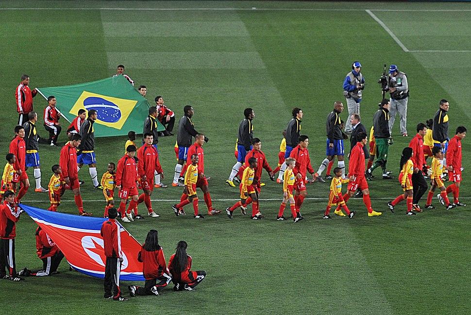 FIFA World Cup 2010 Brazil North Korea 3