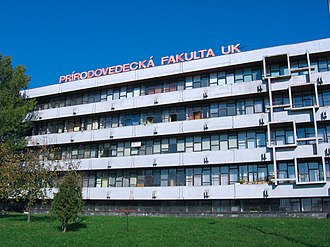 Comenius University, Faculty of Natural Sciences - One of pavilions of the complex of the Faculty of Natural Sciences
