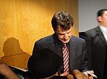 File:FRINGE On Stage @ the Paley Center - John Noble signs for fans (5741704820).jpg
