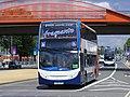 "FX60 HFN Stagecoach Events (Hull) Enviro 400 19691 ""Joseph Rank"" Olympic Games vehicle. (7713469226).jpg"