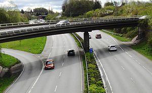 Wrong-way driving - Wrong-way driver in Germany (2017)