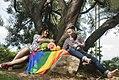 Familia Diversa Diane Rodriguez transexual y fernando machado transgenero junto a su hijo sununu LGBT.jpg