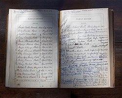 writing family history examples
