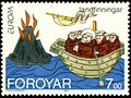Faroe stamp 253 Europe and the Discoveries.jpg