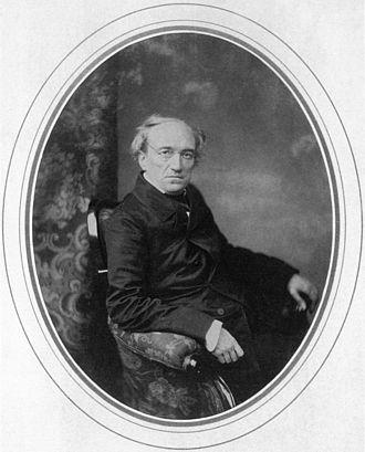 Fyodor Tyutchev - Portrait by Levitsky, 1856.