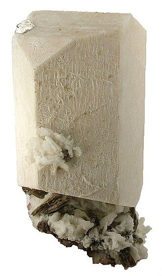 Feldspar - Feldspar crystal (18×21×8.5 cm) from Jequitinhonha valley, Minas Gerais, southeastern Brazil