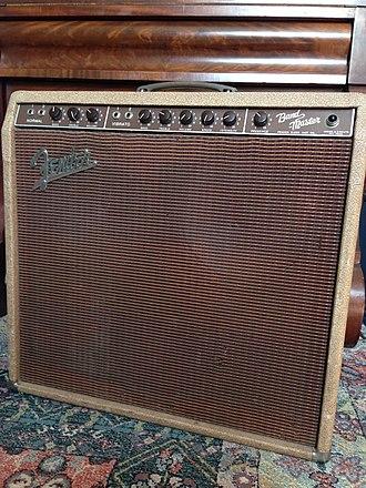 Fender Bandmaster - Fender Bandmaster, model 5G7, early 1960