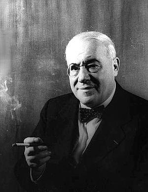 Ferenc Molnár - Ferenc Molnár (photo by Carl Van Vechten, 1941)