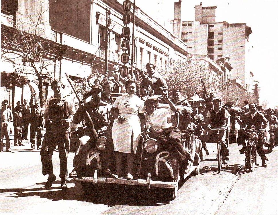 Festejos Libertadora Córdoba