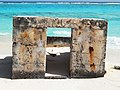 Figure 33- Concrete Pillbox (Property No. S-6), Midway Atoll, Sand Island (April 15, 2015) (26029833001).jpg