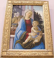 Filippino Lippi: Madonna and Child with Two Angels