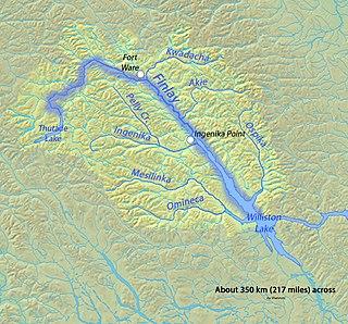 Finlay River river in Canada