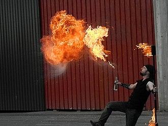 Fire breathing - Fire breather