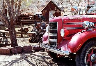 Mayer, Arizona - Old Mayer fire engine