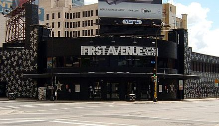 First Avenue nightclub, the heart of Minnesota's music community. First Avenue nightclub.jpg