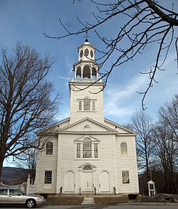 The Congregational Church in Old Bennington