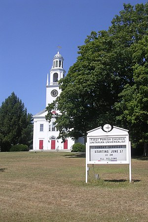 Northborough, Massachusetts - First Parish Church