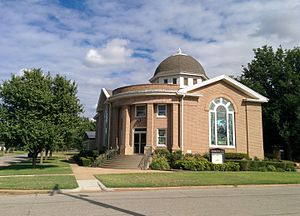 National Register of Historic Places listings in Cotton County, Oklahoma - Image: First United Methodist Church Walters OK