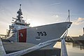 First change of command for Charleston's first National Security Cutter 150410-G-BD687-197.jpg