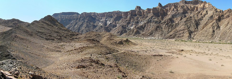 Fish River Canyon - Firmer ground