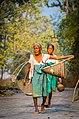 Fisherwomen at Rani, Kamrup district, Assam.jpg
