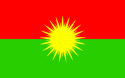 Flag of Kongreya Gelê Kurdistanê v2