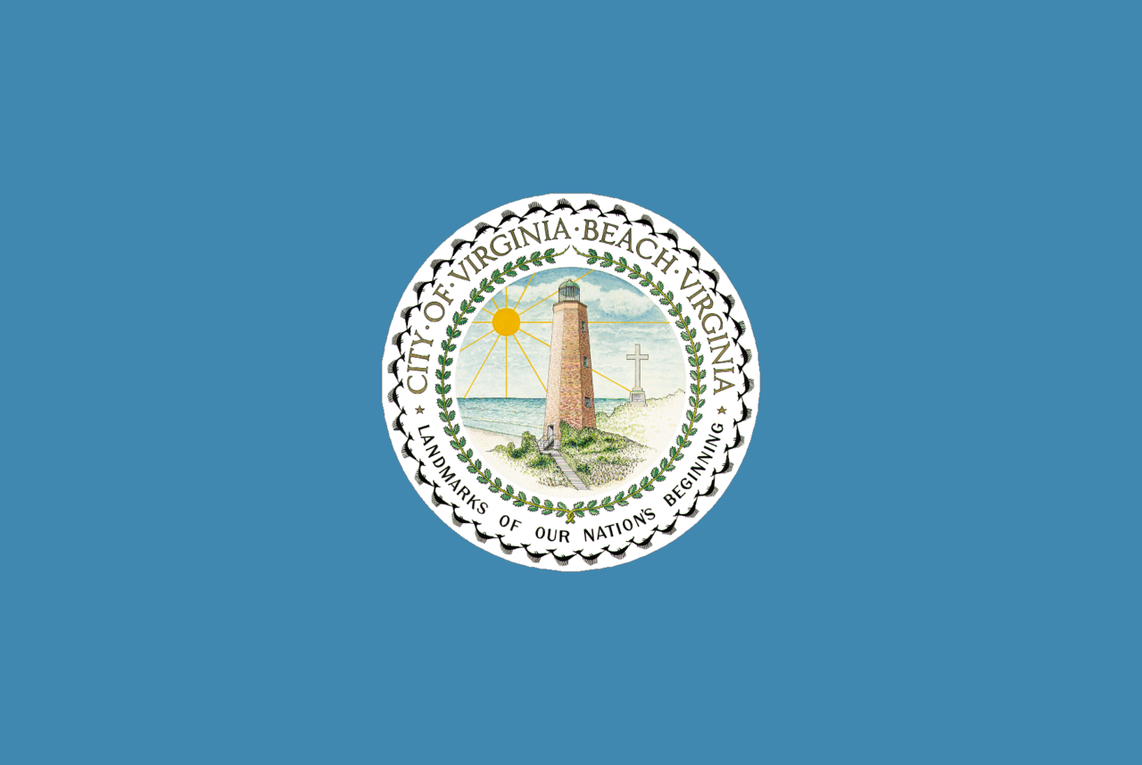 file flag of virginia beach  virginia png