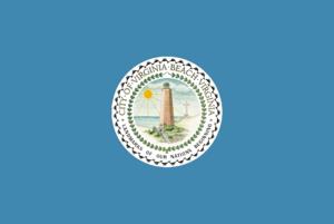 Virginia Beach Fire Department - Image: Flag of Virginia Beach, Virginia