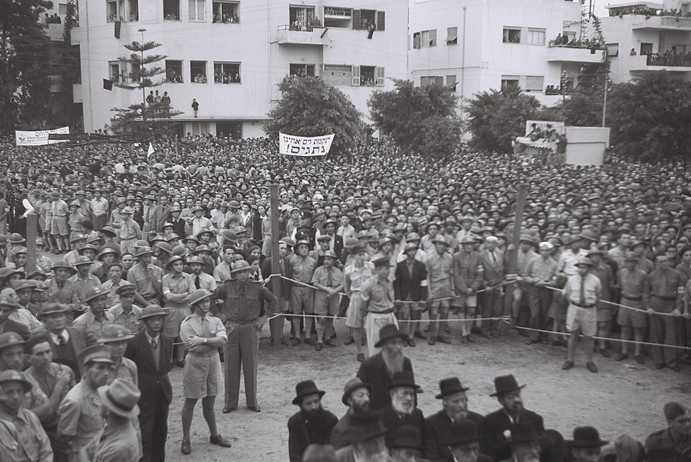 Flickr - Government Press Office (GPO) - A rally in Tel Aviv honoring Holocaust victims