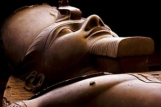 The colossus of Rameses II in the open-air museum Flickr - IDS.photos - Cairo sculptures, Egypt. (1).jpg