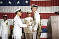 Flickr - Official U.S. Navy Imagery - Admirals shake hands during a change of command ceremony..jpg