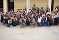 Flickr - The U.S. Army - Soldiers distribute new school supplies to Sadr City children.jpg