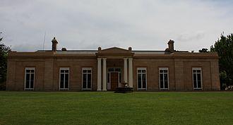 Archer family - Panshanger House in Longford, Tasmania, built by Joseph Archer.