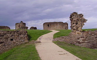 Flint Castle - Image: Flint Castle 01