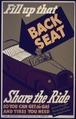 Flip Up That Backseat Share The Ride^ - NARA - 533928.tif