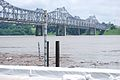 Flood elevation river gages and Natchez–Vidalia Bridge.jpg