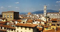 Paisagem florentina, um marco do Renascimento