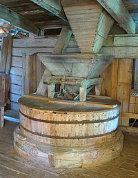 Old Fashioned Grain Mill Physics Mit