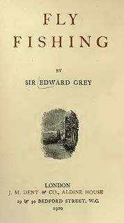 <i>Fly Fishing</i> (book) book by Edward Grey