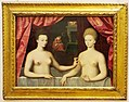 Fontainebleu School painting of Gabrielle Estrées and her sister (11606700184).jpg