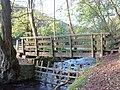 Footbridge, Grizedale Beck, near Garstang - geograph.org.uk - 9067.jpg