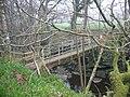 Footbridge near Redlead Mill - geograph.org.uk - 1264657.jpg